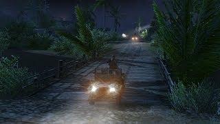 Men of War Vietnam - Bonus campaign walkthrough - Mission 4 - Sheltering Night 1/2