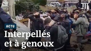 Mantes-la-Jolie : images choquantes de lycéens interpellés par la police