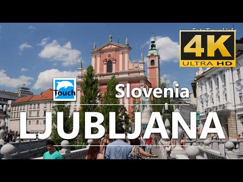 Ljubljana (Lublaň), Slovenia - 16 min. 4K