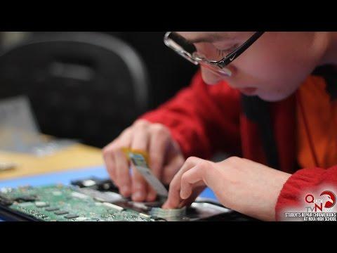 Students Repair Chromebooks at Nixa High School, QuickNews TV, 2017