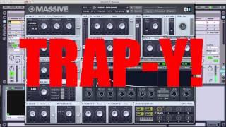 Trap Kick/Bass Massive Sound Design Tutorial