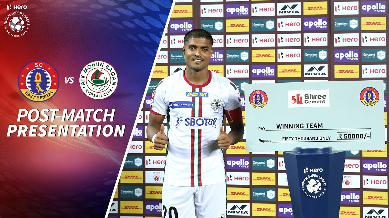 Post-match Presentation - SC East Bengal 0-2 ATK Mohun Bagan - Match 8 | Hero ISL 2020-21