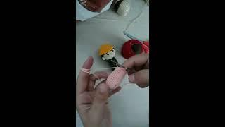 Amigurimi (örme oyuncak) parmak kuklası bölüm 2
