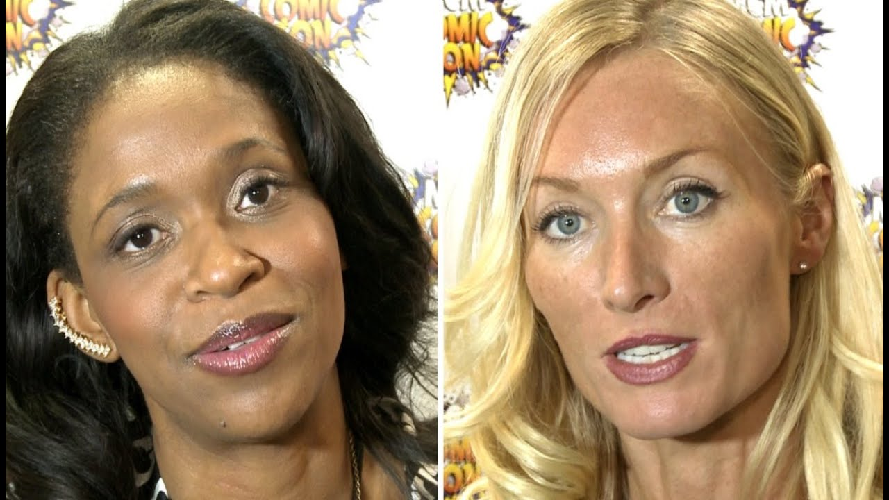 Merrin Dungey & Victoria Smurfit Offer Acting Advice - YouTube