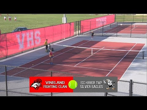 VHS Girls Tennis vs Egg Harbor Township 2017