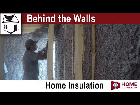 Behind the Walls - Episode 6 - Insulating the Home - Energy Saving Cellulose Insulation