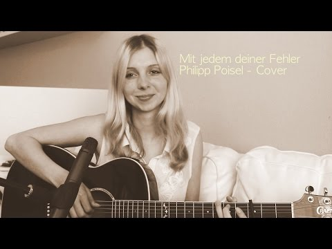 Mit jedem deiner Fehler - Philipp Poisel - Akustik | Leya Valentina