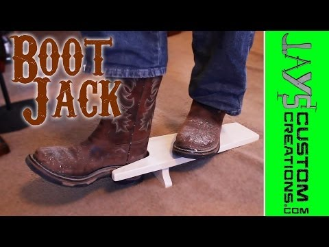 Apartment Woodworking - Make A Boot Jack - 140