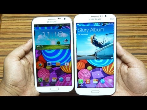 Samsung GALAXY MEGA 5.8 Unboxing & Hands on Review by Gadgets Portal