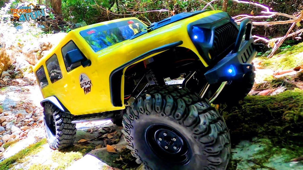 FTX Outback Fury RTR | 4x4 Trail Crawler | Unboxing | Cars Trucks 4 Fun