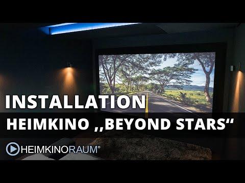 Heimkino ''Beyond Stars'' – made by HEIMKINORAUM Mannheim
