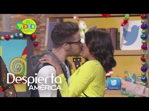 William explica el beso que le robó a Francisca Lachapel