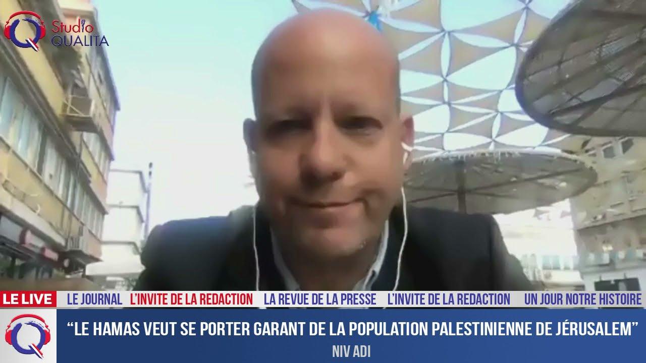 """""""Le Hamas veut se porter garant de la population palestinienne de Jérusalem"""" - L'invité du 11.05.21"""