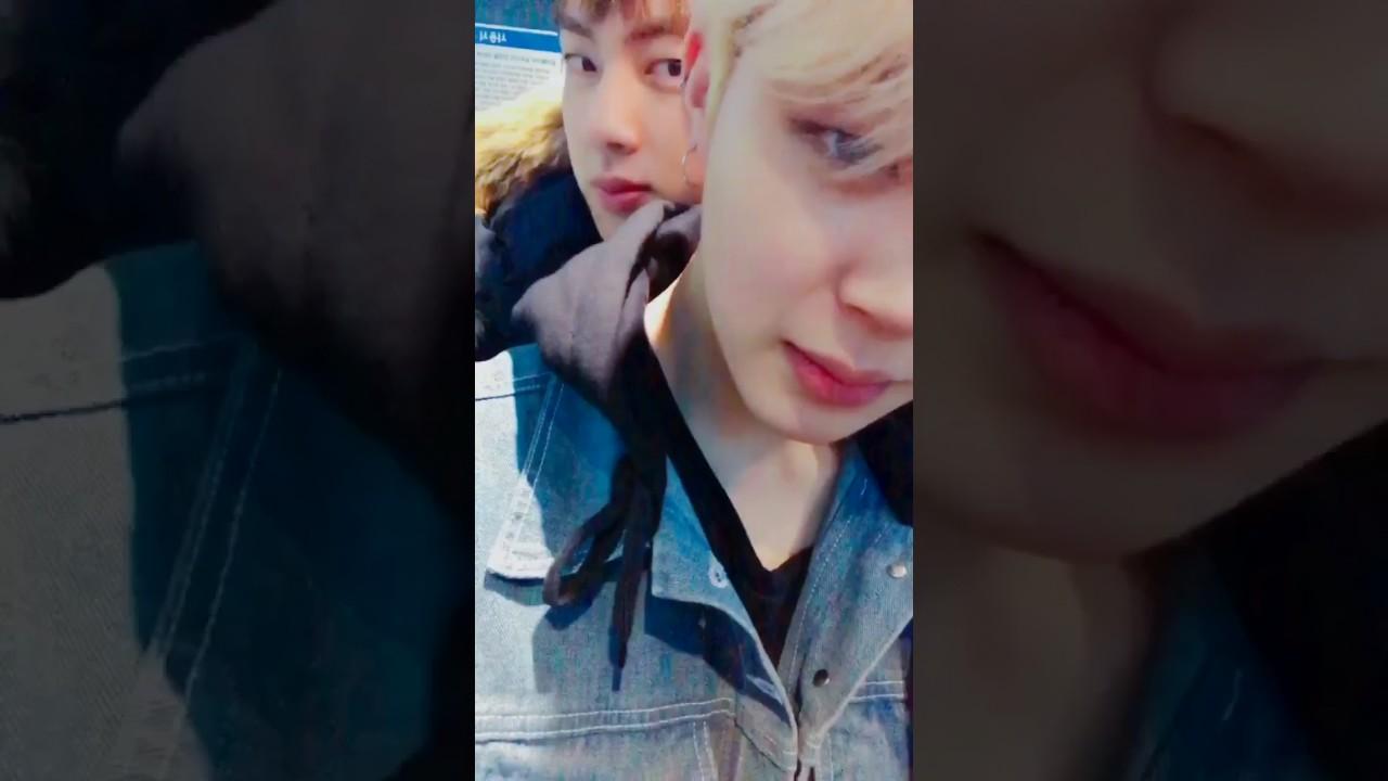 170211 BTS Jimin & Jin Twitter Video