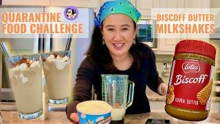 Creative Eats Challenge Using Post-Hoard Leftover Groceries | Biscoff Cookie Butter Milkshakes