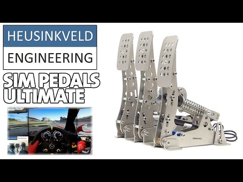 New Sim Pedals ULTIMATE  (Heusinkveld Engineering) HEEL & TOE - Mazda RX-7 Tuned @ Brands Hatch