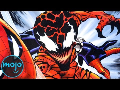 Top 10 Characters Who Have Worn the Carnage Symbiote