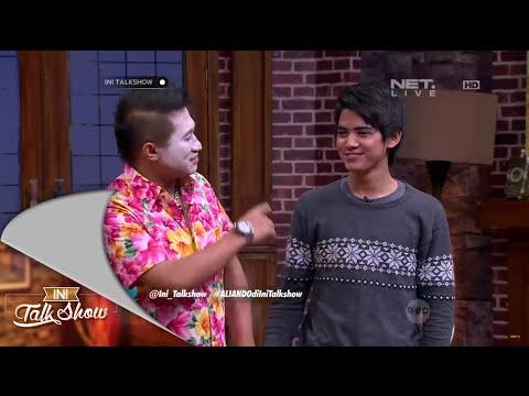 Aliando Ceritanya Numpang Mandi di Ini Talk Show