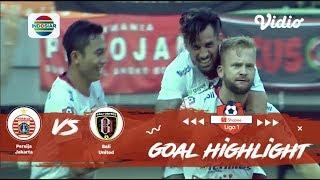 Persija Jakarta (0) vs (1) Bali United - Goal Highlights | Shopee Liga 1