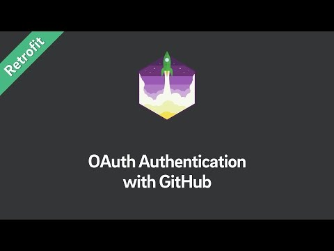 Retrofit Tutorial — OAuth Authentication with GitHub