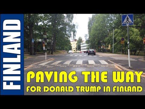 Paving The Way For President Trump's Helsinki Visit (Hilton Helsinki Kalastajatorppa)