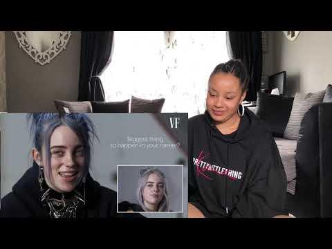 Billie Eilish   Same Interview, One Year Apart   Reaction