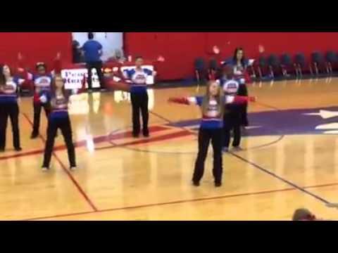 Peoria Heights High School dance team. 1-16-15