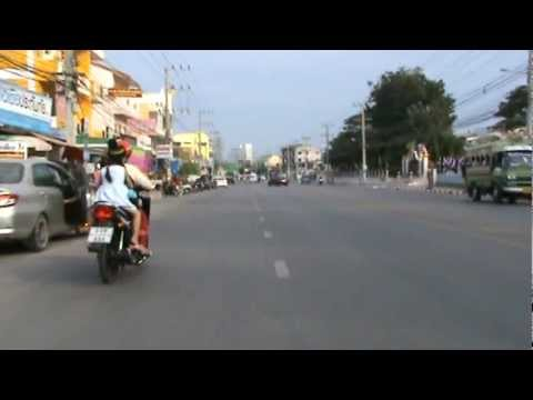 Biking Hua Hin - Hill from Palau