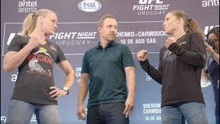 UFC Uruguay: Media Day Faceoffs