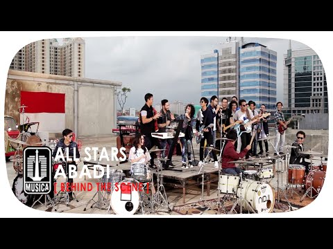 [ALL STARS] IWAN FALS NOAH NIDJI GEISHA D'MASIV - Abadi (Behind The Scene)
