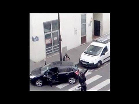Nouvelle vidéo glaçante des frères Kouachi juste après le massacre