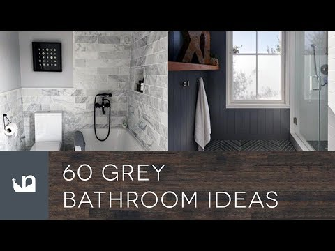 60 Grey Bathroom Ideas