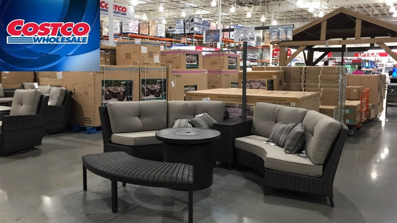 Costco Outdoor Patio Furniture Summer Home Decor With Me Ping Walk Through 4k
