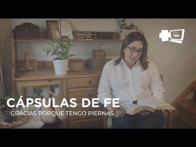 GRACIAS POR QUE TENGO PIERNAS (Cristina Martínez)