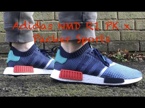 Unboxing Adidas NMD R1 PK White Gum BY1888 Mogol Pos