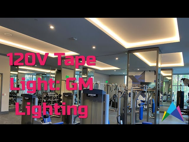 120V Tape Light Coves - Driverless - GM Lighting & Slater Lighting