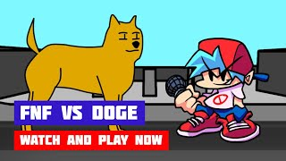FNF vs Doge (Friday Night Funkin') | Online Port