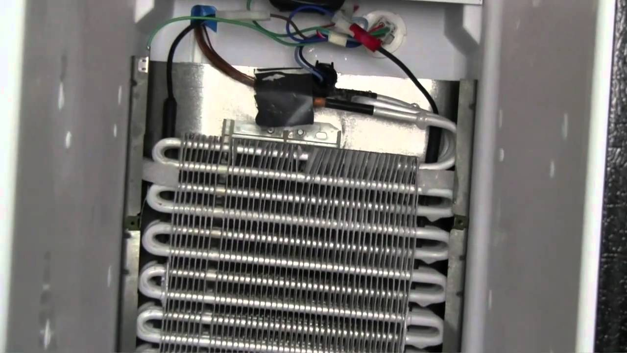 Refrigerator Repair Not Cooling Defrost System Youtube Frigidaire Heat Pump Wiring Diagram