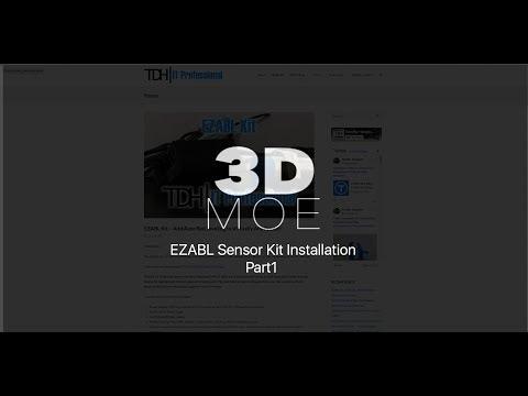 CR-10 S5 TDH EZABL Sensor Installation (Part1)
