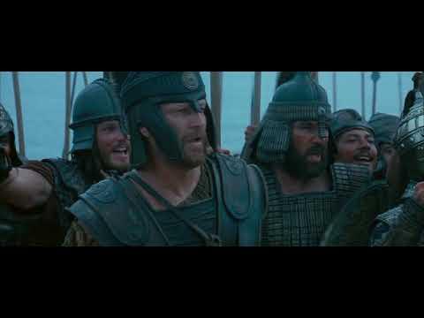 TROY  Achilles Cousin Patroclus rushes to battle *HD 2004 film