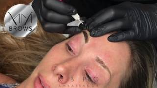 MM Brows Full Microblading Procedure