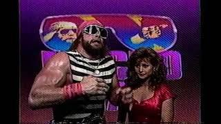 Macho Man Randy Savage Promo on Bad News Brown (01-14-1989)