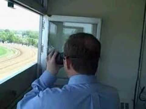 Monmouth Park - Behind the Scenes with Larry Collmus