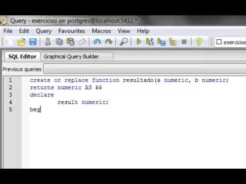 Linguagem PL/pgSQL - 02 (prática)