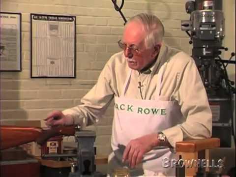 Brownells - Jack Rowe, Master Gunsmith Series, Stock Bending. Part 2