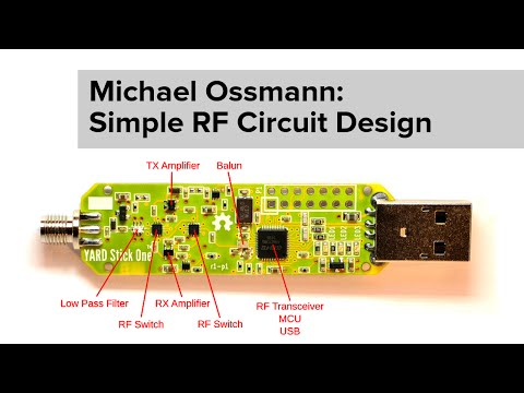 Michael Ossmann: Simple RF Circuit Design