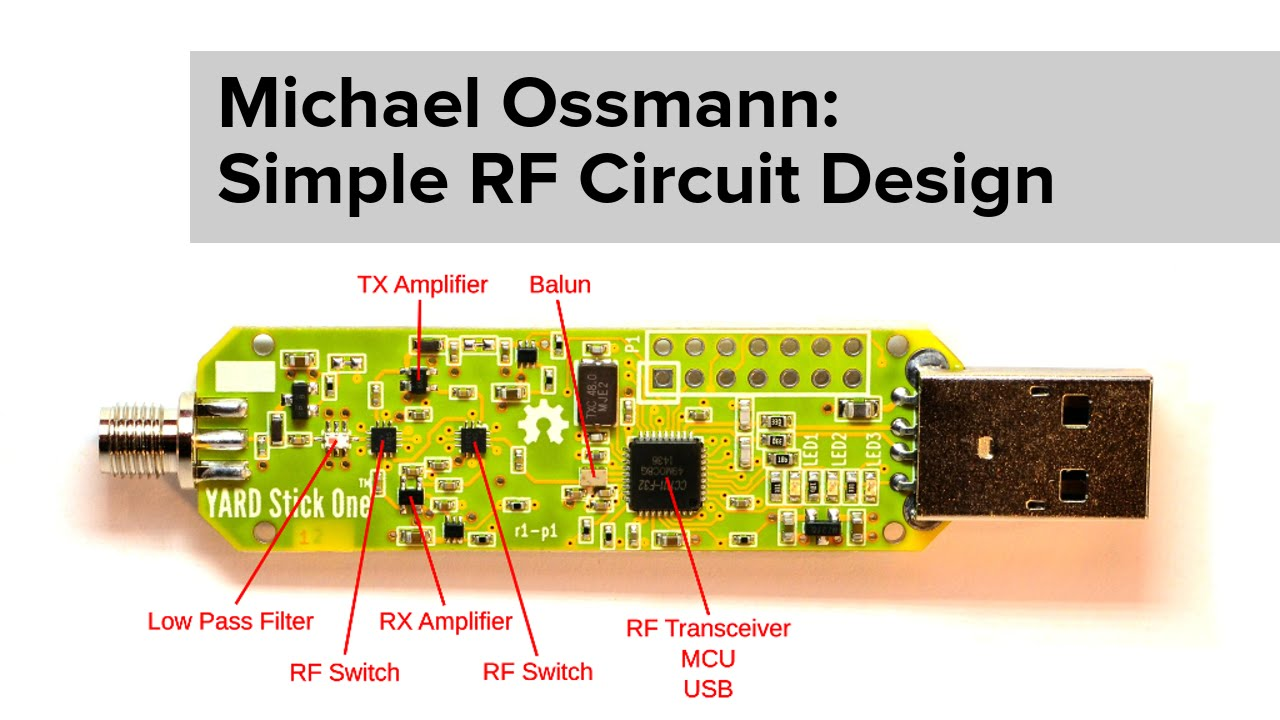 Michael Ossmann Simple Rf Circuit Design Youtube