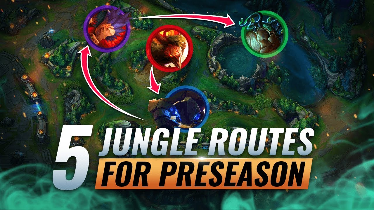 5 Most Optimal Jungle Routes You Must Know In Preseason 11 League Of Legends Youtube
