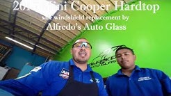 Mini Cooper Hardtop 2015 Safe Windshield Replacement By Alfredo's Auto Glass