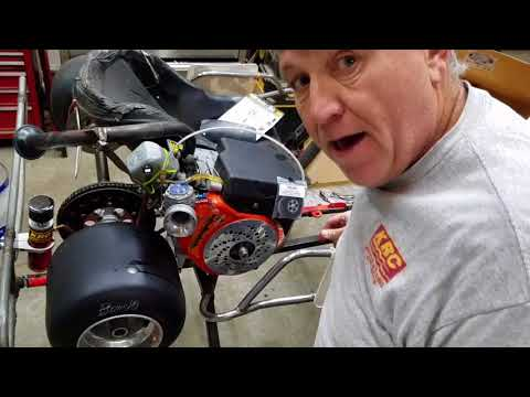 KRC Go Kart Methanol Engine Start-up(2018) On B&S Animal Engine